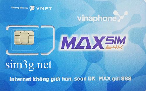 sim 3g vinaphone 108Gb toc do cao