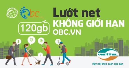 Sim 3G Viettel 120Gb dung lượng khủng