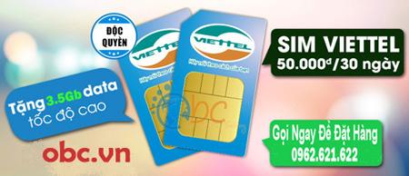 Sim 3G Viettel 2.5Gb không giới hạn